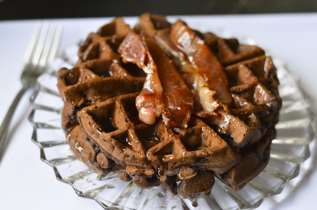 Chocolate Waffles 1