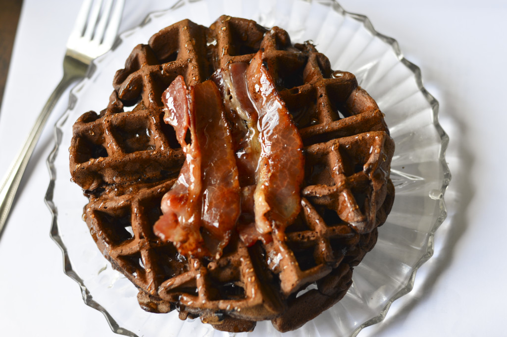 Chocolate Waffles 3