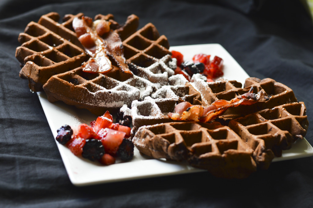 Chocolate Waffles 5
