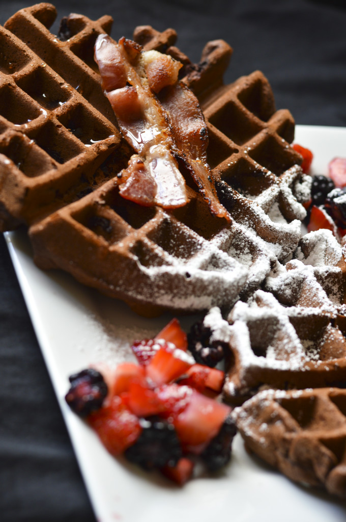Chocolate Waffles 6