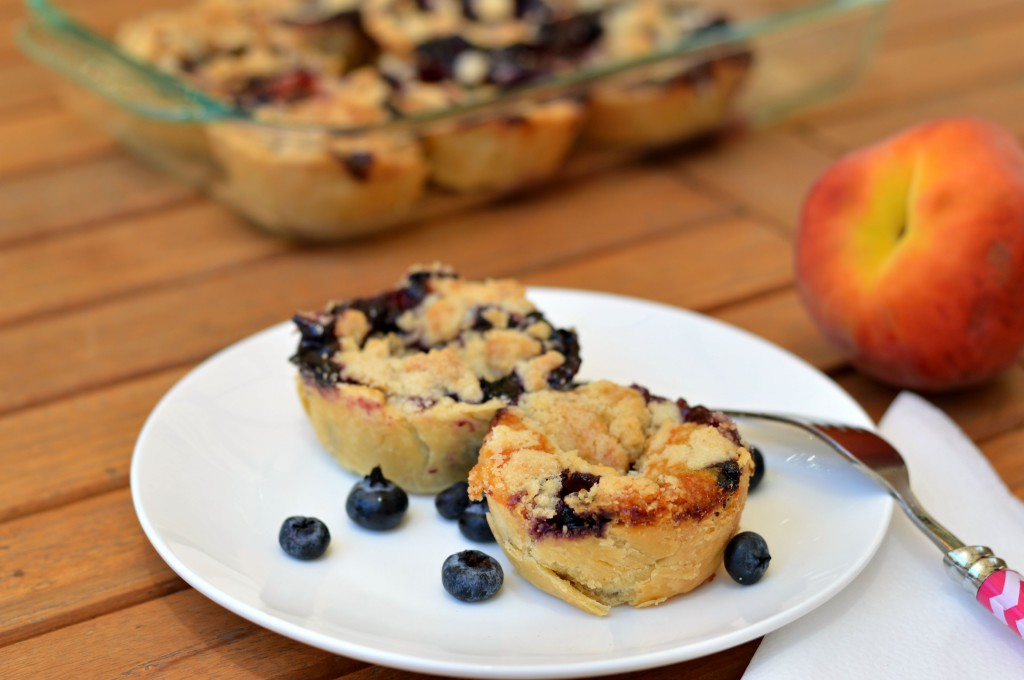 Blueberry & Peaches Pies 2
