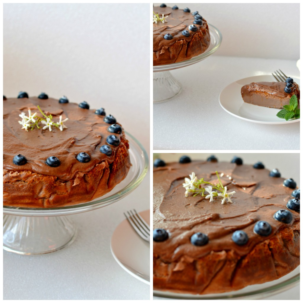 Nutella cake collage 4