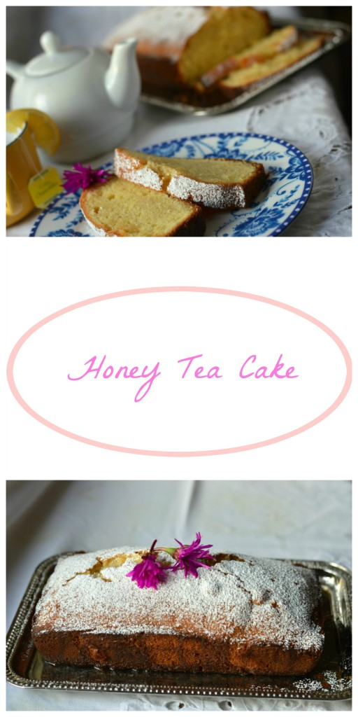 Honey Tea Cake collage